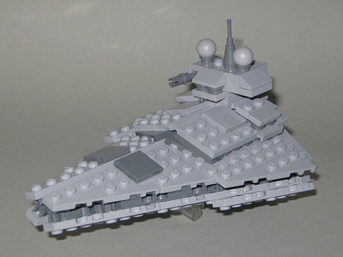 Front/Left Angle Front View Side View Rear/Left Angle Rear View Size  Comparison With The MIDI Star Destroyer ...