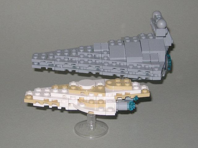 Chris Deck 39 S Mini Mon Calamari Mc80 Liberty Type Star Cruiser