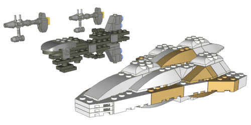Fotos de naves de lego star wars 43